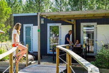 Camping avec spa dans les Landes